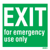 Exit-for Em. Use Only