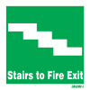 Stairs To Fire Exit