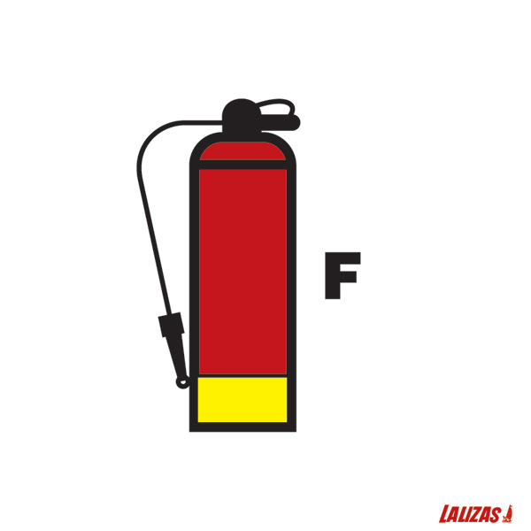Lalizas Imo Signs Foam Fire Extinguisher 15x15